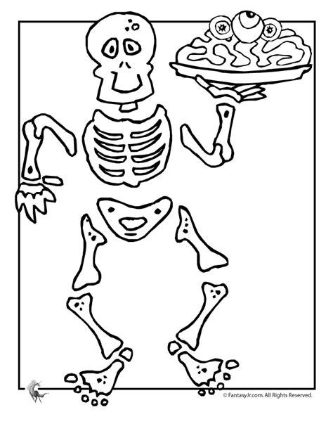 printable animal skeleton template skeleton halloween coloring page woo jr kids activities