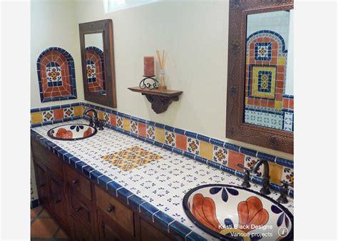 azulejo en mexico ideas de dise 241 o de ba 241 o y cocina de azulejos mexicanos de