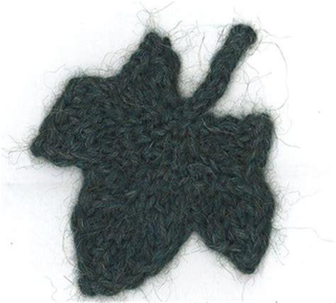 crochet pattern ivy leaf ravelry knit ivy leaf pattern by karen savage