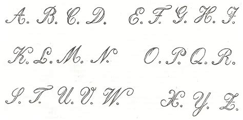 Letter Fonts antique graphics wednesday three 1800 s antique alphabet