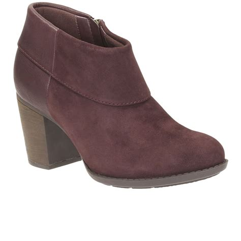 clarks enfield canal womens casual ankle boots