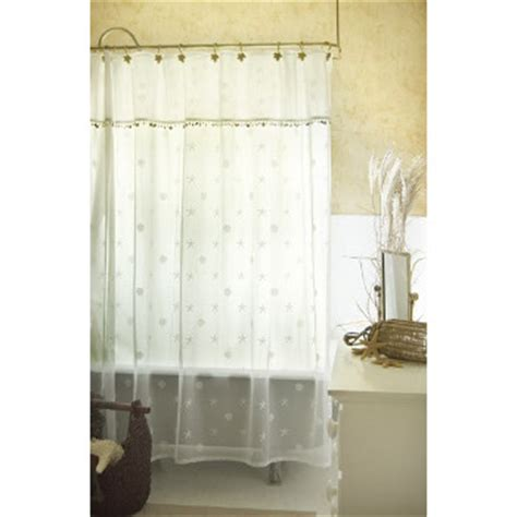 shell curtains sand shell shower curtain