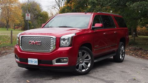 gmc yukon denali review review 2015 gmc yukon denali xl canadian auto review