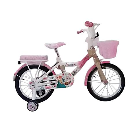 Sepeda Keranjang Wimcycle jual wimcycle mini frozen sepeda anak 16 inch pink