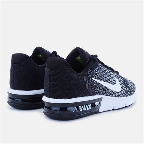 Nike Air Max Sequent 2 Black 852461005 1 shop black nike air max sequent 2 shoe for womens by nike