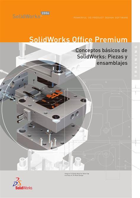 solidwork tutorial ppt conceptos basicos de solid works piezas y ensamblajes