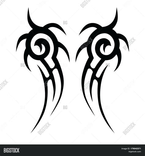 swirl tribal tattoos tribal tattoos template