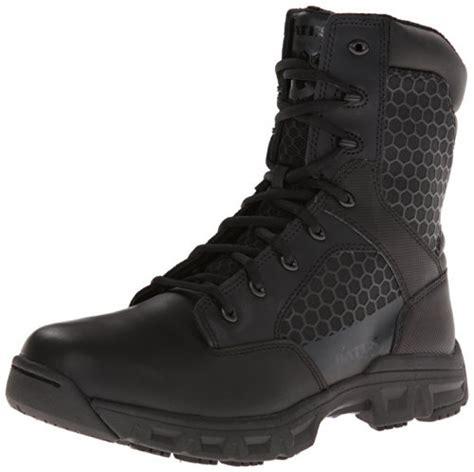 Sepatu Murah Crocodile Cordura Safety Boots Zipper Suede Pria bates s code 6 black 8 inch leather zip boot black 11 5 xw us