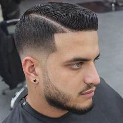 Galerry men s hairstyle long on top