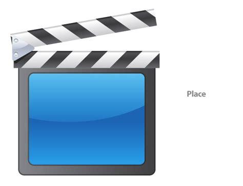 tutorial vector icon create a vector film slate icon