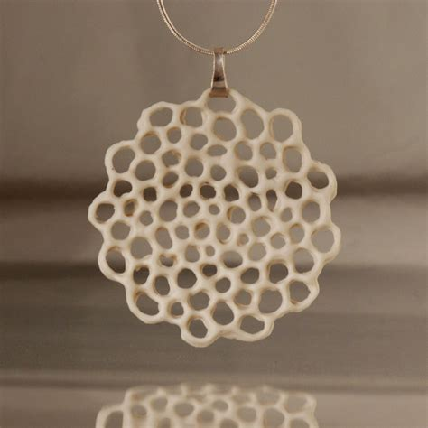 how to make ceramic jewelry porcelain and silver necklace made to order hanako by wapa