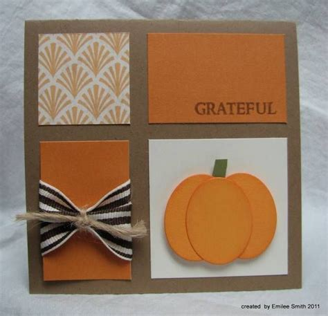 thanksgiving card ideas fall pumpkin card card ideas