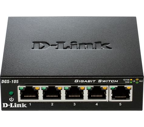 Switch Network d link dgs 105 b 5 port ethernet switch deals pc world