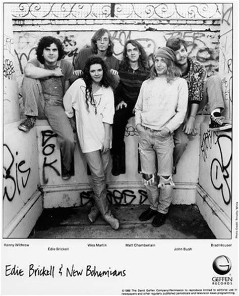 the new bohemians edie brickell new bohemians promo print 1988 at wolfgang s