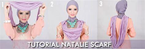 tutorial natalie scarf cut iswahyuni hijab instant cocok untuk yang nggak suka