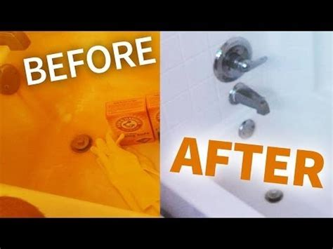 how to remove rust from bathtub how to remove rust from your bathroom easy way youtube