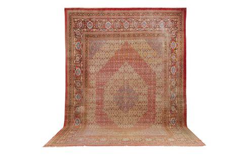 tappeto grande grande tappeto persiano bidjar xix inizio xx