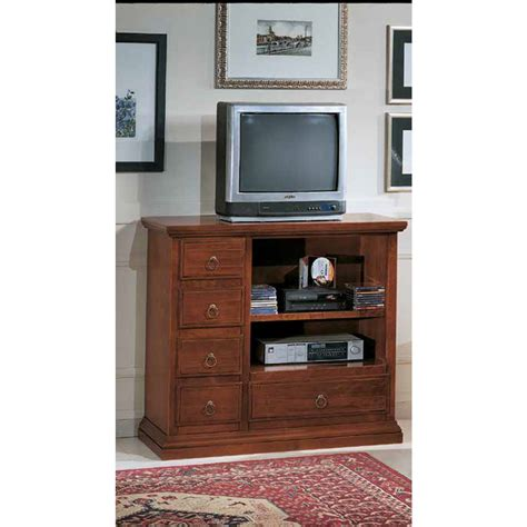 porta tv in legno massello mobile porta tv da salotto stile classico in legno