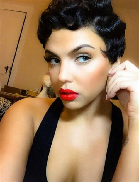 black people short up dos pin curls hairstyles 8 pin up hairstyles for short hair 2017 goostyles com