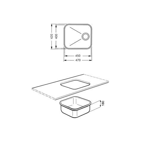 Evier Inox Encastrable Sous Plan by Smeg Um45 201 Vier Encastrable Sous Plan 1 Cuve Acier