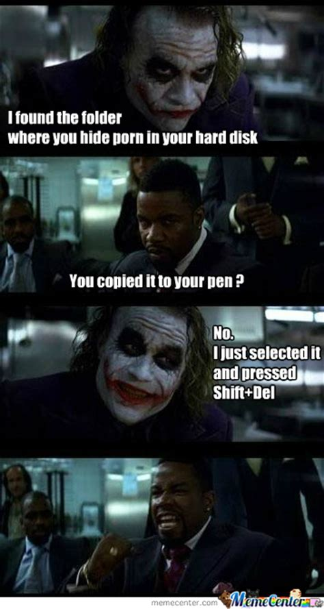 Batman Joker Meme - nooooooo by lokimelkor meme center