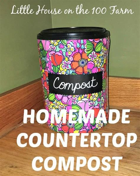 Diy Countertop Compost Bin by 1000 Ideas About Compost Container On Compost
