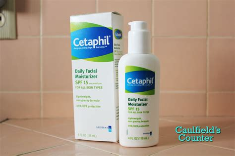 Cetaphil Daily Moisturizer Spf 15pa Uvauvb Protection product review cetaphil daily moisturizer spf 15 caulfield s counter skincare