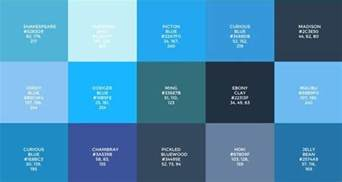 color palette website how to choose the best color palette for your website