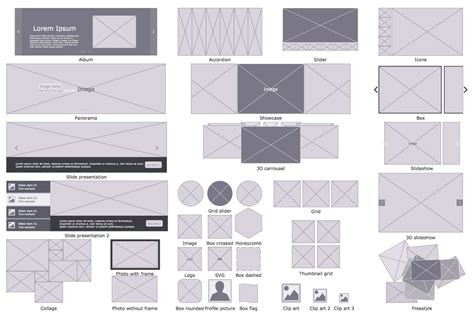 wireframe profiles website wireframe solution conceptdraw