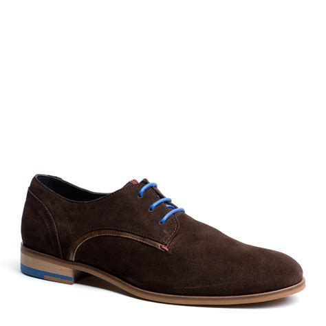 shoes suede hilfiger burke suede shoe in brown for coffee