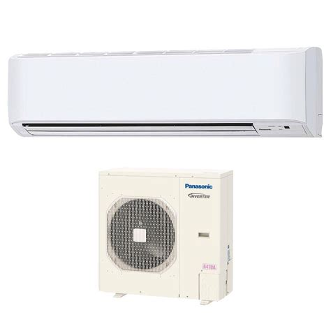 Ac Panasonic panasonic 36 000 btu 3 ton ductless mini split air conditioner with heat 208 or 230v 60hz