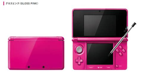 two new 3ds colors hitting japan