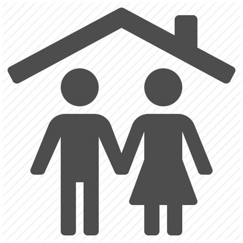 Adobe Interior Design couple home household husband people roof wife icon