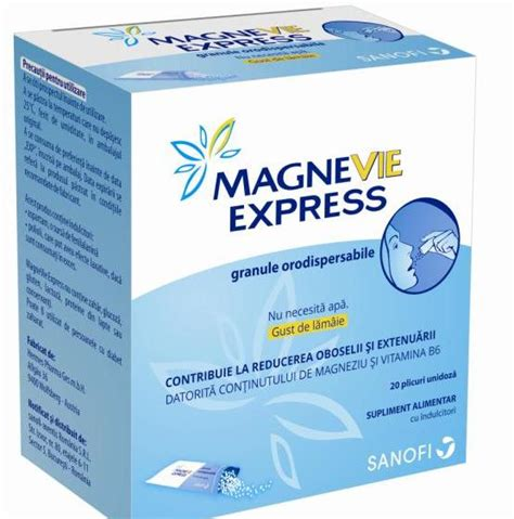 magnevie express granule orodispersabile  plicuri unidoza farmacia spiteriero