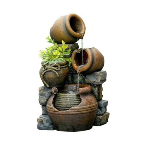 Canadian Tire Kitchen Faucets Fountain Cellar Multi Pots Outdoor Water Fountain With