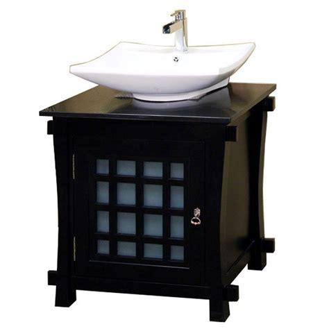 bathroom vanity black marble top bellaterra home bradford 30 in single vanity in black