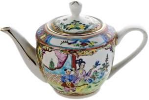 Porcelain Painted Porcelain Teapot Sound Light Rental Event
