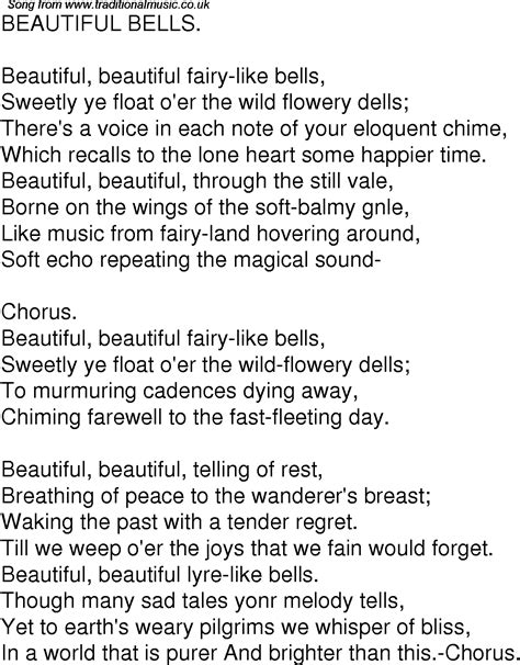 beautiful in white lyrics free mp3 download old time song lyrics for 05 beautiful bells