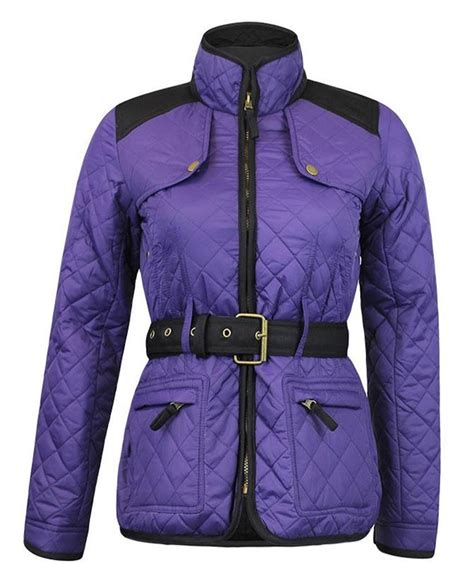 Quilted Plus Size Coats by New Womens Quilted Padded Quilted Zipper Coats