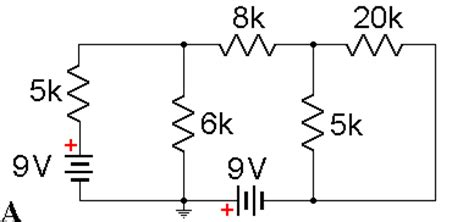 equivalent resistors exles phys345 nodal analysis exle