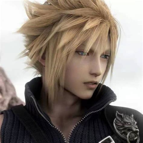 androgynous hairstyles anime final fantasy vii know your meme