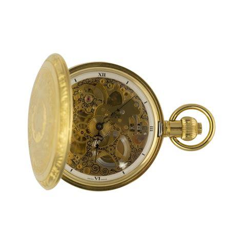 bernex gold plated skeleton pocket