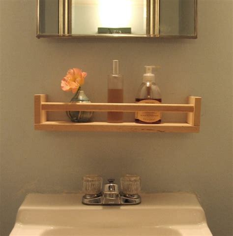 17 diy wooden bathroom shelves that you can make just in