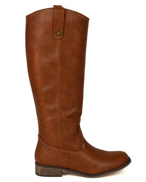 breckelles boots shoes breckelle ae45 leatherette toe