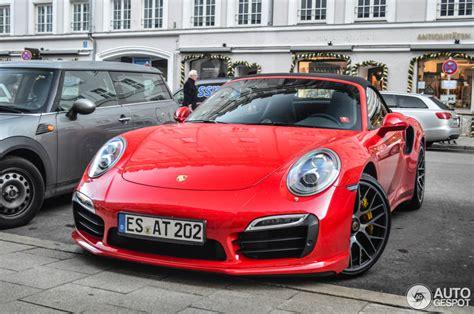 Red Porsche Turbo by Tomato Red Porsche 991 Turbo S Looks Delicious