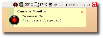 camera monitor – system tray icon that notifies you when