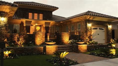 Landscape Lighting Las Vegas Landscape Lighting Contemporary Landscape Las Vegas By Chip N Dale S Custom Landscaping