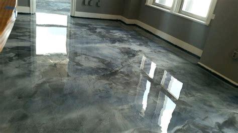 home improvement metallic epoxy garage floor garage