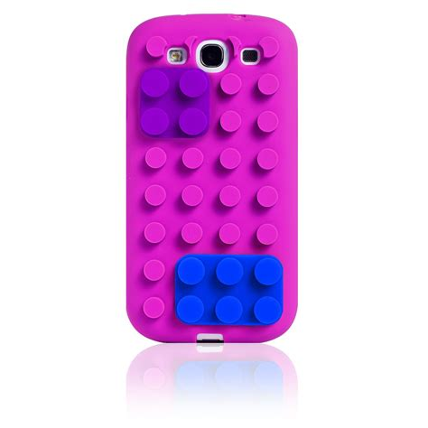 samsung s3 mobile details building 3d lego blocks stand soft silicone cover for