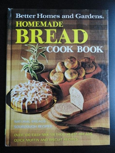 better homes and gardens bread recipies bhg bread cook book 1973 vintage style book and breads
